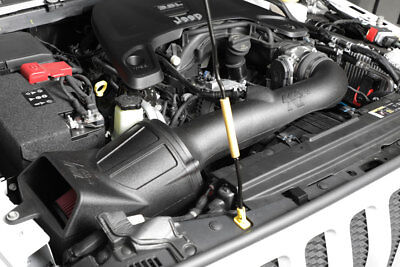 Aircharger Intake System - K&N Performance Aircharger Intake System 2018 Jeep Wrangler JL 3.6L +12HP!