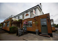 Part Time Bartender/ Waiter - Up to £7.50 per hour - Builders' Arms - Potters Bar - Hertfordshire