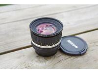 Nikon Nikkor 20mm f2.8 Ais manual lens