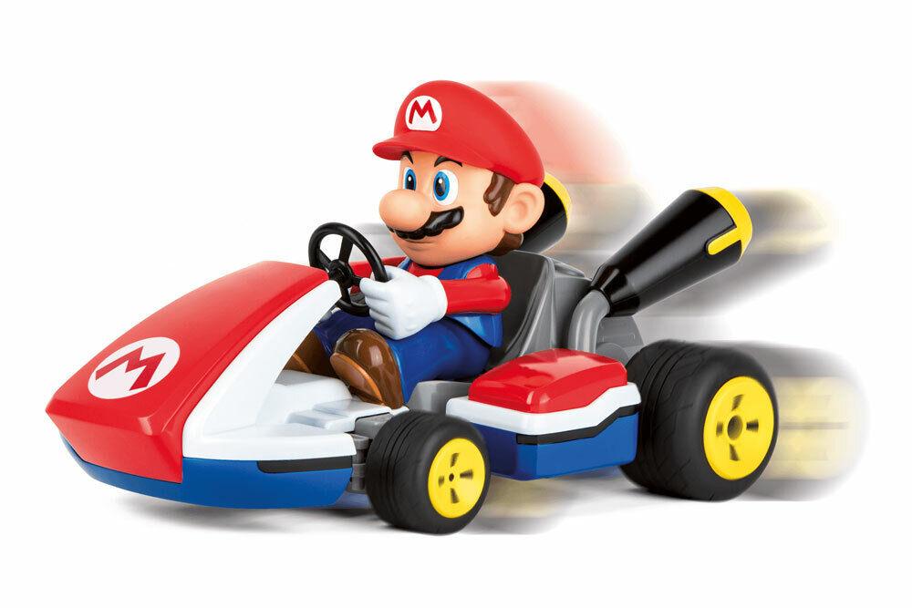 Carrera RC 370162107X -  Mario Kart(TM), Mario - Race Kart with Sound 2,4GHz