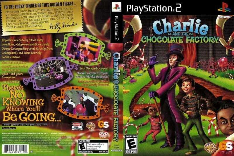 charlie and the chocolate factory - gra dla dzieci na PS2