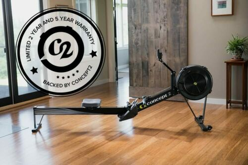 Black Concept2 Model D Indoor Rowing Machine with PM5 Monitor FREE 2Day EXPRESS!