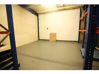 500 sq ft, Warehouse, Unit, workshop, storage ground floor, secure, 1 min from M74