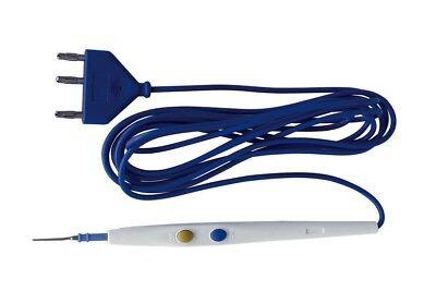 Surgical Electrosurgical Esu Cautery Pencil Diathermy Pencil 3 Pin 10 Pcs.