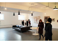 Hackney Creative Studiospace, fantastic location, high ceilings, kitchen/meeting room 1250 sq ft