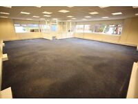 1,184 sq ft Office, Trade Counter, Unit, workshop, showroom, Glasgow Southside, 1 min from Motorway