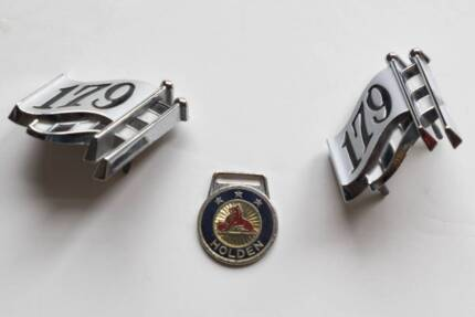 Holden EH 179 Badges (two)