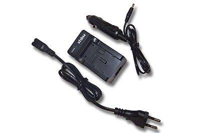 Cargador 240V + coche mechero para Sony Alpha 6000, A6000, ILCE-6000, ILCE-QX1