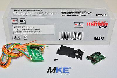 Märklin 60972 mLD3 DCC / mfx Digital- Decoder 21pol. mtc NEU &OVP online kaufen
