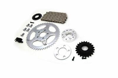 Bolt On Chain Drive Conversion Kit Rear Sprocket Harley Dyna FXD Club Drag 00-05