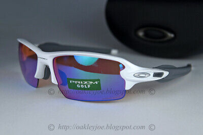 Oakley Flak 2.0 Sunglasses OO9271-10 Polished White Frame W/PRIZM Golf Lens (AF)
