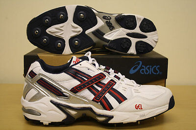 *NEW* ASICS GEL 150 NOT OUT CRICKET SHOES / BOOTS / SPIKES, All Sizes, RRP £80