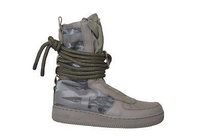 Mens Nike SF Air Force 1 AF1 Hi Boot - AA1128203 - Ridgerock/Black