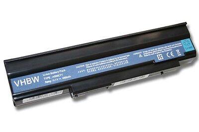 BATTERIA  4400mAh nero per Acer Extensa 5635Z Notebook / Laptop