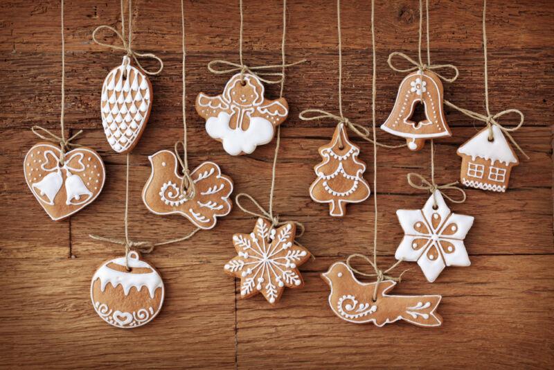 Christmas cookies make gorgeous festive treats