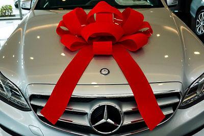 Giant Bows (Velvet Car Bow, Elegant Luxury, Large Bows for Cars, Giant Bows - Slight)