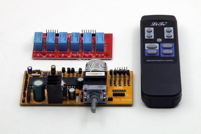 LITE HIFI MV04 Remote preamp board+ Volume Control+Input Selector DIY board