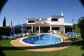Holiday Villa Algarve Sleeps 11, last 2 weeks August massive discount, private pool, near beach