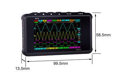 Dso Ds213 Nano V2 Quad Pocket Digital Oscilloscope With Aluminum Black Case A