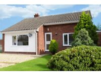 3 bed bungalow with garden and garage to rent