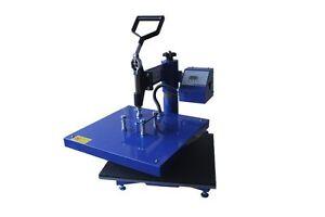 38x38cm SWING Heat Press HP3805B Standalone Sublimation T-Shirt Transfer Print