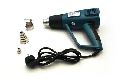 Heißluftpistole Heißluftfön Heißluftgebläse ZD-510 mit Zubehör und Anzeige