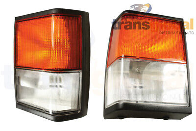 Front LH & RH Indicator Lamp Assembly for Range Rover Classic 92-95 LUCAS OEM