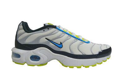 Juniors Nike Tuned 1 Air Max Plus (GS) TN - 655020115 - White Photo Blue