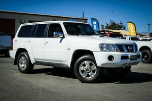 2005 Nissan Patrol GU IV MY05 ST White 4 Speed Automatic Wagon Coopers Plains Brisbane South West Preview