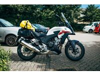 Honda CB500X – 2013 Adventure Bike – Only 3360 miles