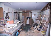 FLOOR WORKSHOP / WAREHOUSE / LOCKUP (Size: 12ft x 23ft)