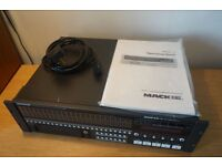 Mackie SDR 24/96 24-track HD recorder inc 6 x 5m DSUB > TRS cables + 5 x 3m ADAT cables