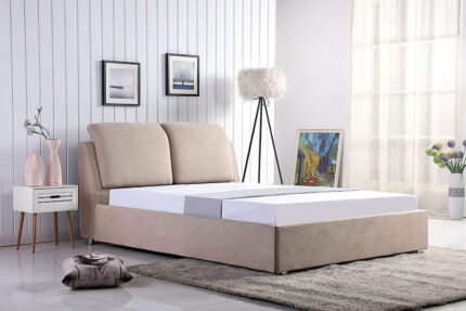 Bed-centric Lifestyles Gorgeous Plush Bed Frame Queen