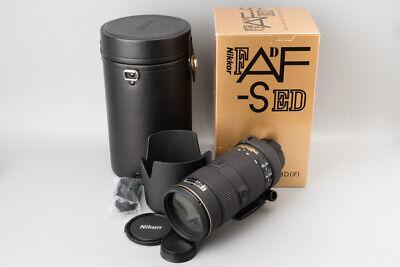 *Mint* Nikon Nikkor AF-S 80-200mm f/2.8 f2.8 D ED Zoom Lens,