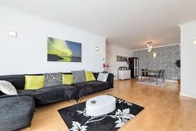 A stunning two bedroom apartment is located on the fourth floor of Rainbow Quays beautiful dockyard