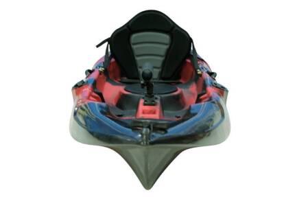 **WOW** 2.7m Fishing Kayak Package Crazy Price $389 Red Kayak
