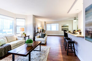 Great Incentives! 2 Bedroom utilities incl. at Secord House!
