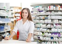 Pharmacy/Healthcare/Counter assistant for a family run and friendly pharmacy N18