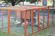 ♥♥♥  Chicken Coop /Rabbit Hutch + Large Run Area  ♥♥♥ Londonderry Penrith Area Preview