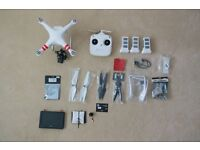 Drone : Phantom 2 with H4-3D Gimbal and full FPV System