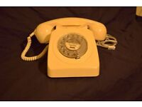 Vintage Rotary Dial 70s Telephone