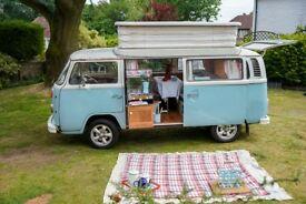 VW T2 Bay Window Camper Devon