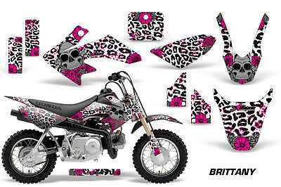 Dirt Bike Graphics Kit Decal Wrap For Honda CRF50 CRF 50 2004-2013 BRITTANY