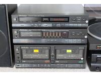 Technics HiFi - Turntable, CD player, Tape, Tuner, Amp & Speakers - Fantastic sound