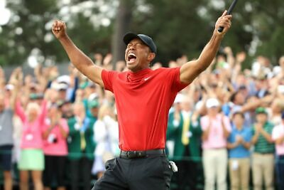 2019 MASTERS TIGER WOODS COMEBACK WIN PGA TOUR GOLF Poster 24 x 36 inch