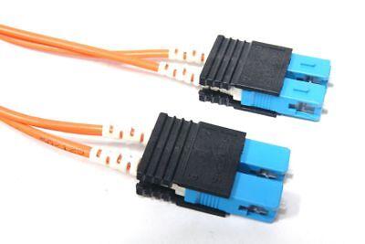 2m lc duplex optique fiber câble multi mode réseau câbles à fibres à