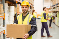 Warehouse Worker- OVERTIME AVAILABLE!