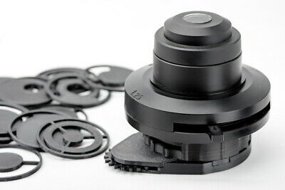 Usado, Olympus microscope CH-2 condenser darkfield polarizing oblique insert set  segunda mano  Embacar hacia Argentina