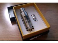 ELE FOG TURBINE CLOUD STAINLESS STEEL E SHISHA ATOMIZER TANK + 5 SPARE REPLACEABLE COILS