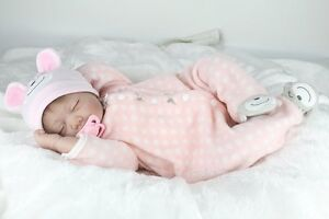 "Lifelike Reborn Baby Dolls Girl Newborn Alive Realistic Soft Vinyl Handmade 22"""